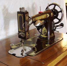 Uncommon Chocolate Domestic, restored by Stagecoach Road Vintage Sewing Machine