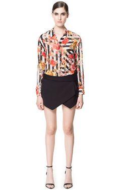 CULOTTE SHORTS - Skirts - Woman | ZARA United Kingdom