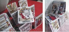 This blog is great! Catechism on all the numbered cards, lots of illustrations and Holy Family and Trinity on face cards: our Faith is awesome!  Cathletics Playing Cards available at look for Arma Dei Shoppe at equippingCatholicfamilies.com