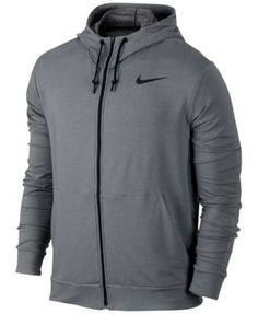 8000fc985a98 Nike Men s Dri-fit Training Hoodie - Gray S