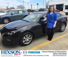 https://flic.kr/p/DA6G5H | Happy Anniversary to Courtney on your #Mazda #Mazda3 from Brandon Holloway at Hixson Mazda of Alexandria! | deliverymaxx.com/DealerReviews.aspx?DealerCode=PSKP