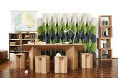 paper furniture temp