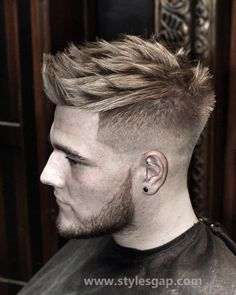 Men Best Hairstyles Latest Trends of Hair Styling & Haircuts 2016-2017   StylesGap.com