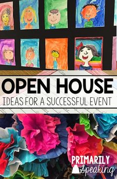 So many great ideas for Open House. The tissue flowers are a great way to add a cozy feel to the event.  The tutorial is so helpful!