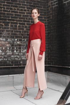 Yigal Azrouël Resort 2018 Fashion Show Collection