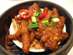 Sweet and Spicy Chicken Feet