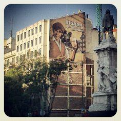 Calles de Madrid ---> Louvre, Building, Instagram Posts, Travel, Sky, Viajes, Buildings, Trips, Construction