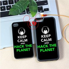 KEEP CALM AND HACK THE PLANET fashion cover case for iphone 4 4s 5 5s 5c SE 6 6s 6Plus & 6S plus #A334 Digital Guru Shop  Check it out here---> http://digitalgurushop.com/products/keep-calm-and-hack-the-planet-fashion-cover-case-for-iphone-4-4s-5-5s-5c-se-6-6s-6plus-6s-plus-a334/