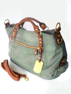 NEW COLLECTION Large Vegan Leather Purse Handbag by INIZIALE, €63,00
