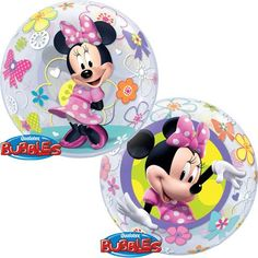 Minnie Mouse Bowtique Bubble Balloon 22 Inches Brand New Fully Packaged -- For more information, visit image link. (This is an affiliate link)