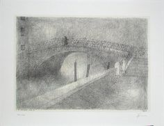 Paul FLORA - Foundamente Nouve - handsigniert gtk.at   Kunst am Tulbinger Kogel Paul Flora, Ex Libris, Cool Drawings, Abstract, Illustration, Artwork, Painting, Vintage, Art