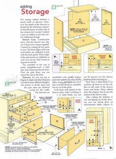 #1147 Drill Press Mobile Base Plans - Drill Press