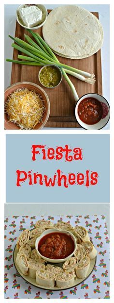 We love these Fiesta Pinwheels for an appetizer or a snack!  #SundaySupper