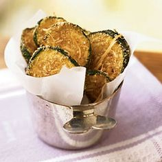 Zucchini Oven Chips | CookingLight.com