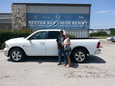 Thank you, DONALD AND CHARLOTTE for the opportunity to help you with your new 2016 RAM 1500!  All the best, Benny Boyd Motor Company - Marble Falls and ROBERT SMITH.