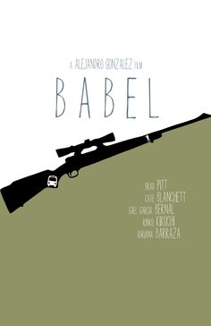 'Babel'  * Oscar Nominee for Best Picture 2006  *2006 Golden Globe for Best Picture/Drama