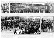 ANZAC Day in Pictures Around Australia in the Years 1920 & 1922 Includes a poem titled Gallipoli by P. of Anson's Bay, Tasmania Anzac Day Australia, Poem Titles, Melbourne, Sydney, Lest We Forget, Military Police, World War One, Historical Pictures, Tasmania