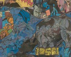 Justice League of America Giclee Print Joker Comic, Harley Quinn Comic, Bruce Timm, Jim Lee, Comic Collage, Justice League Comics, Collage Making, Old Comics, Comic Covers