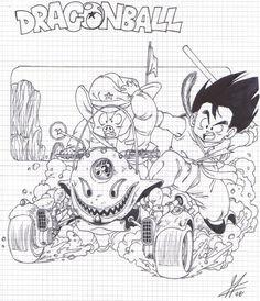 bozzetti DragonBall 5
