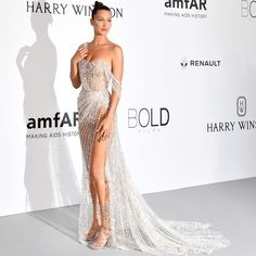 """33.3k Likes, 234 Comments - Ralph & Russo (@ralphandrusso) on Instagram: """"Bella Hadid is breathtaking wearing custom #ralphandrusso couture to the #amfAR Gala at the 70th…"""""""