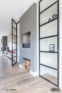 Ontwerp & Realisatie woonkamer-keuken Alphen a/d Rijn