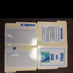 Spell and Sink - A spelling game played like Battleship!