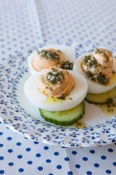 #Epicure Little Italy Devilled Eggs