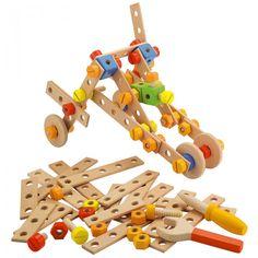Sevi Construction Toy: 104-Piece Set