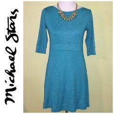 Selling this NWT Michael Stars teal dress in my Poshmark closet! My username is: jdenny09. #shopmycloset #poshmark #fashion #shopping #style #forsale #Michael Stars #Dresses