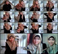 17 best tutorial hijab dan hijab stories images | hijab tutorial.
