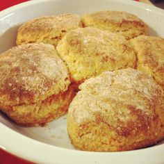 Sweet Potato Biscuits (healthy version)