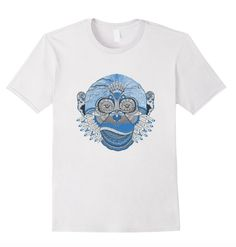 Super fun monkey graphic tee! Available for sale on Amazon!!: https://www.amazon.com/dp/B01C3W50GG Available in Men's, Women's, & Youth Sizes