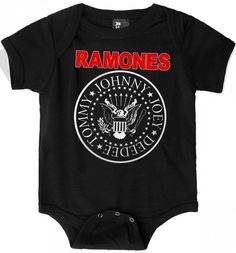 Ramones Baby Onesie
