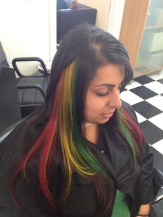 Missions Mane Attraction | rasta colored hair, funky color