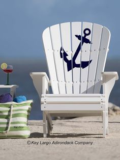Anchor Adirondack Chair - Outdoor Furniture