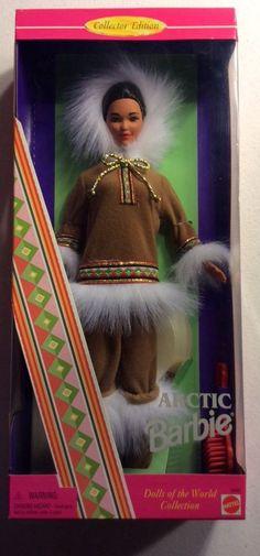 1996 Mattel, Inc. Arctic Barbie Doll Dolls of the World Collection MIB #Mattel #Dolls