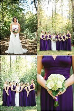 Purple and white fall wedding ideas. Click to view more from this wedding at @Smith Event Centers.
