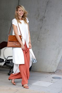 inspiration: wide leg trousers