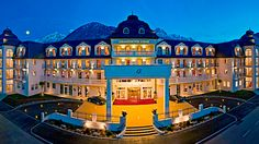 Grand Hotel Lienz in Lienz, Austria Visit Austria, Austria Travel, Central Europe, Grand Hotel, Best Hotels, The Past, To Go, Vacation, Mansions