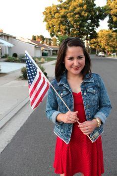 #patriotic outfit idea