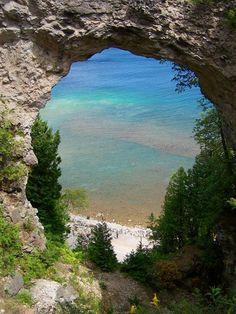 Mackinac Island, Michigan! I would love to visit this charming island!