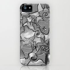 silver star iPhone Case by RokinRonda - $35.00