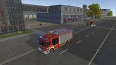 Buy Emergency Call 112 The Fire Fighting Simulation (PC) key - Cheap price, instant delivery w/o any fees at Voidu - Start playing your game right away! Lights And Sirens, Fire Hose, Emergency Call, Emergency Lighting, Fire Department, Fire Trucks, Firefighter, Business Flyer, City