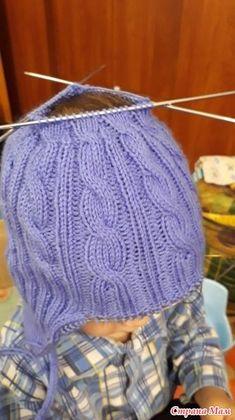 Типа МК по детской шапке )) All Free Crochet, Crochet Baby, Baby Hats Knitting, Knitted Gloves, Kids Hats, Knitting Needles, Baby Dress, Mittens, Crochet Projects