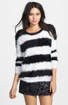 Raga Stripe Textured Pullover   Nordstrom
