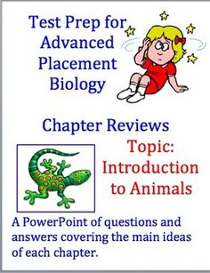 Advanced Placement (AP) Biology Review Powerpoint: Intro to Animals. $