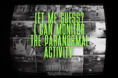 """Let me guess? I can monitor the paranormal activity."" - Priest #unbreakable #thelegionseries #kamigarcia #YAbooks #supernatural #quotes #paranormal #ghosthunting *"