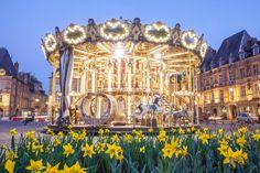 Manège de la place Ducale à Charleville-Mézières © Thierry MICHEL  #Ardennes #France