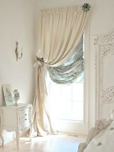 Love, Love, Love This Window Treatment! 30 Shabby Chic Bedroom Ideas U2013  Decor And Furniture For Shabby Chic Bedroom