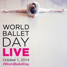 Este primero de octubre pudimos disfrutar de un evento sin precedentes en el ballet internacional, un directo por internet de 20 horas, compartido entre elAustralian Ballet, el Bolshoi Ball…